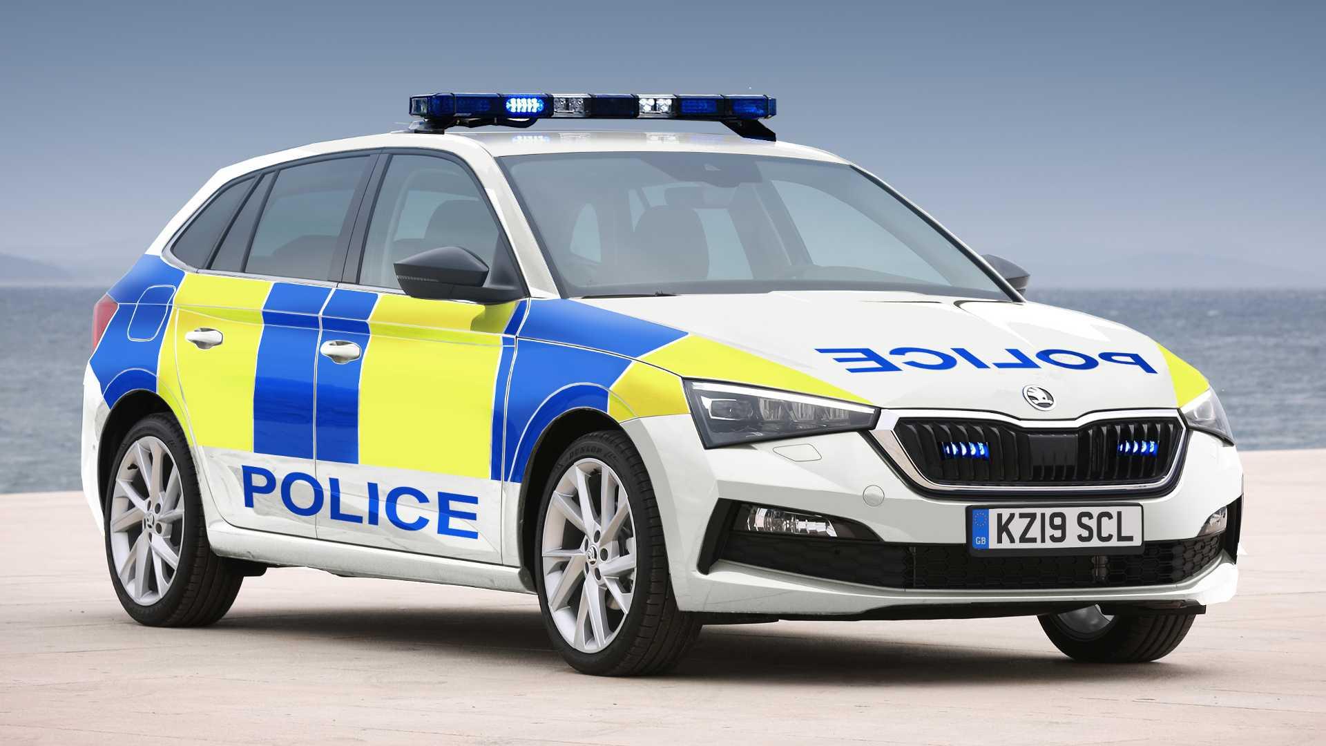 skoda-scala-police-car