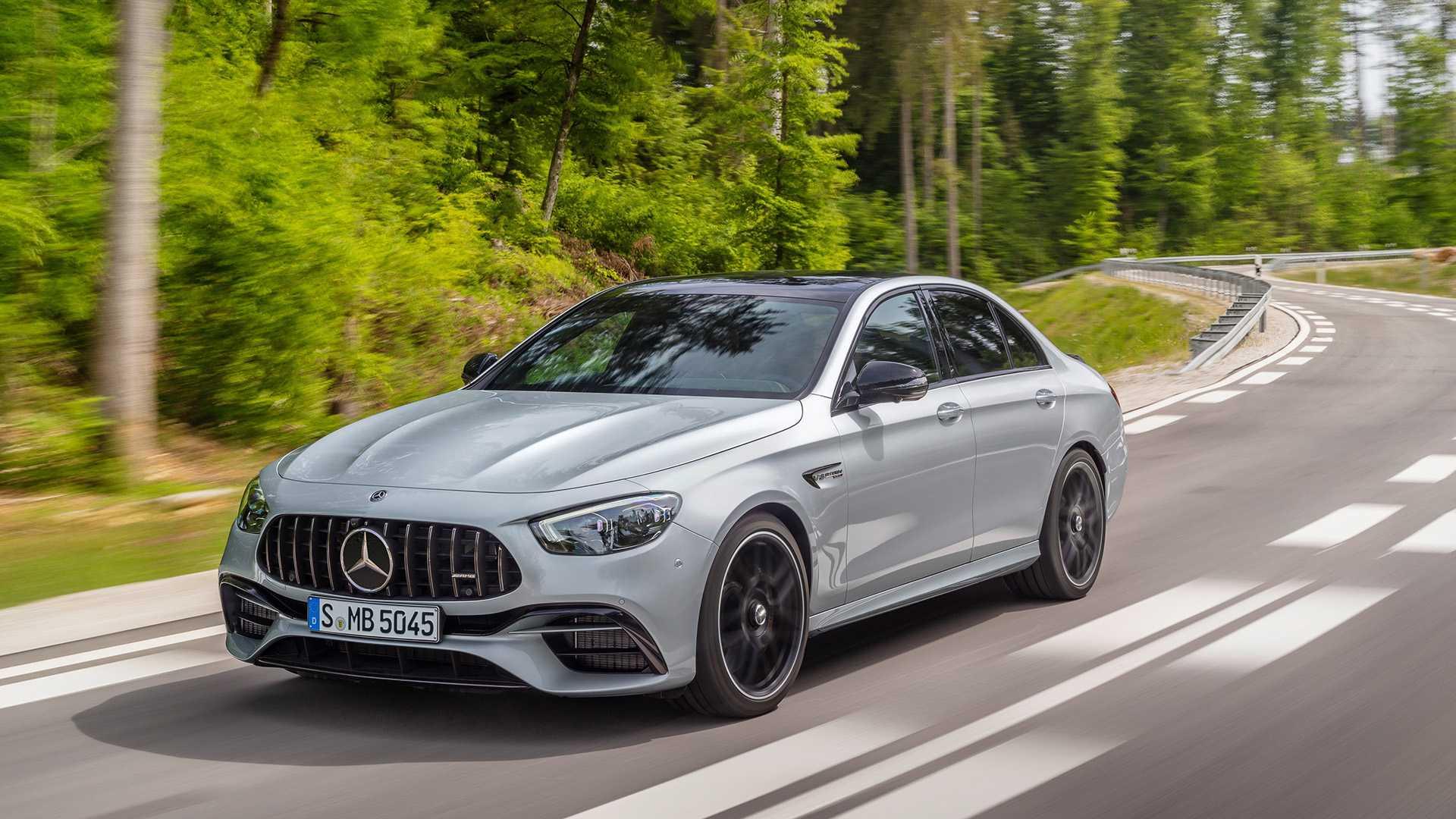 Mercedes-AMG E63 S vine în format Saloon sau Estate
