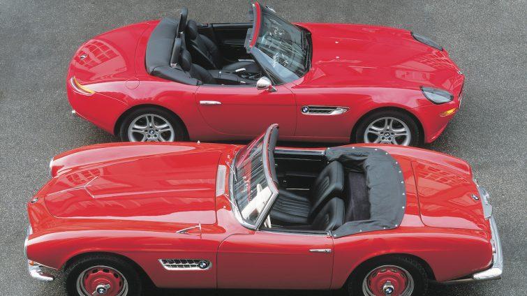 BMW Z8 si BMW 507 roadsters