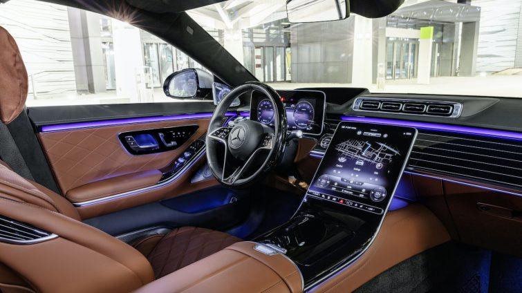 Noul Mercedes Clasa S - interior