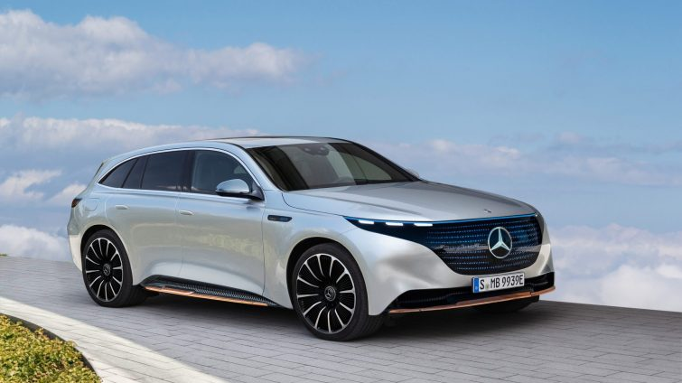 Mercedes EQS SUV