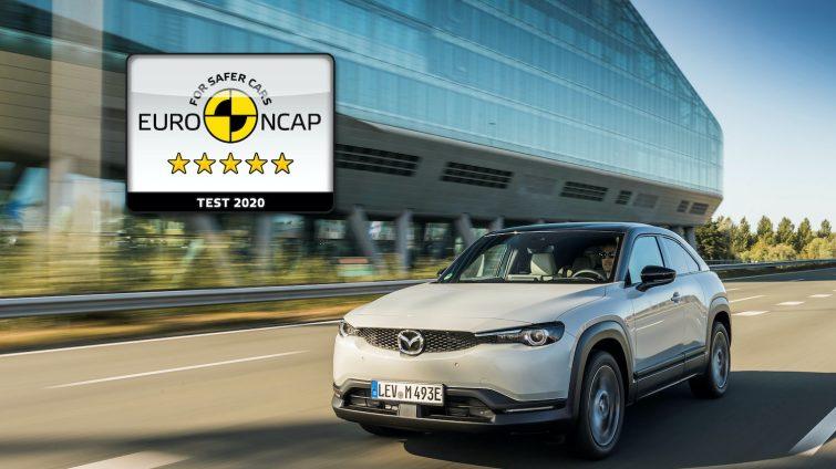 Mazda-MX-30 - Euro NCAP Five Star