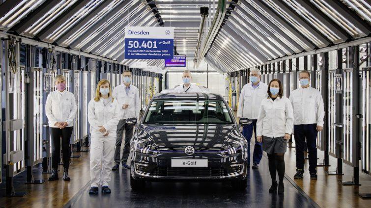 Ultimul Volkswagen e-Golf