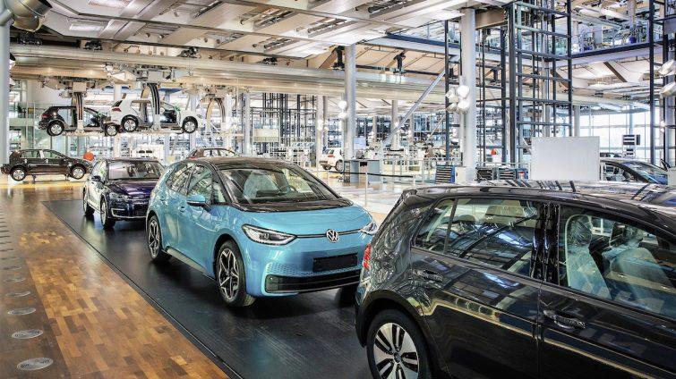 Volkswagen ID.3 înlocuiește e-Golf la uzina din Dresda