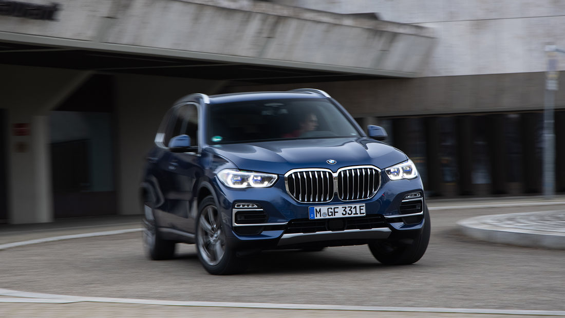 test BMW X5 xDrive45e