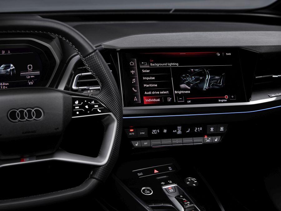 sistem multimedia Audi Q4 e-tron