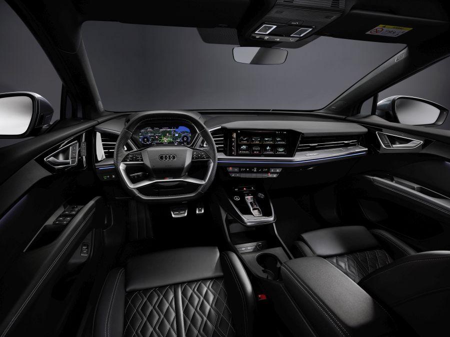 planșă de bord Audi Q4 e-tron