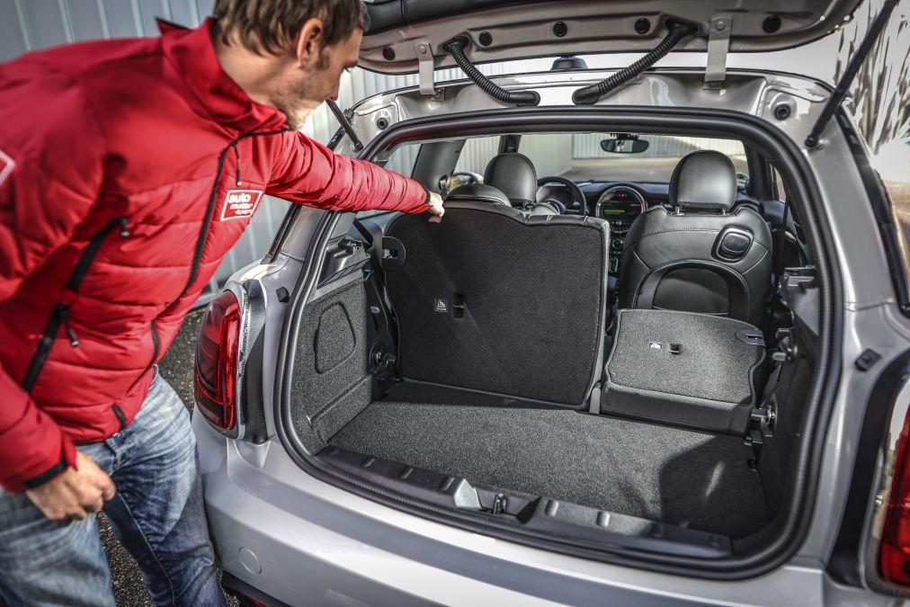 portbagaj Mini Cooper SE