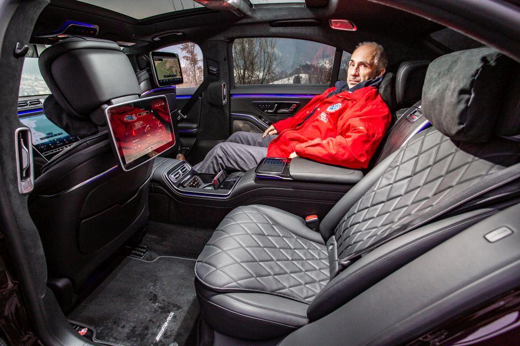 locuri spate Mercedes S-Class 2021