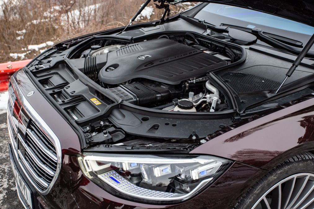 motor Mercedes S 500 4Matic 2021