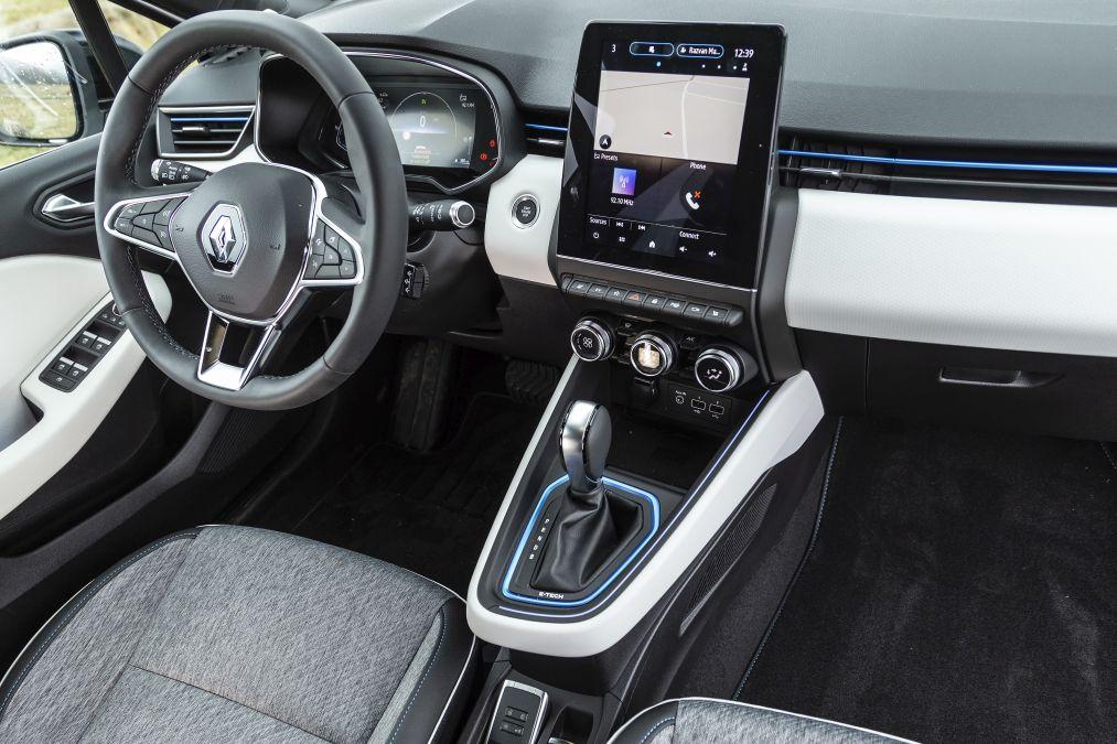 plansa de bord Renault Clio E-Tech