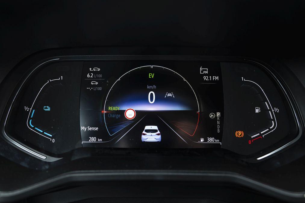 indicatoare de bord Renault Clio E-Tech