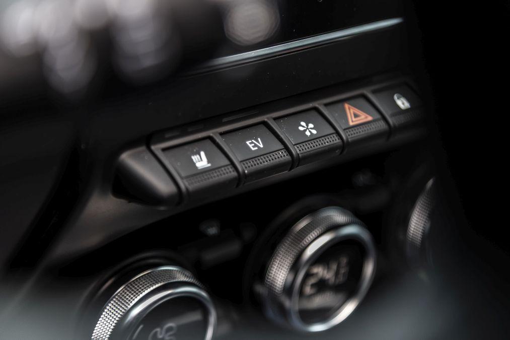 consola centrala Renault Clio E-Tech