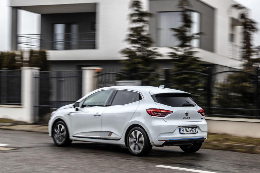 test Renault Clio E-Tech 2021