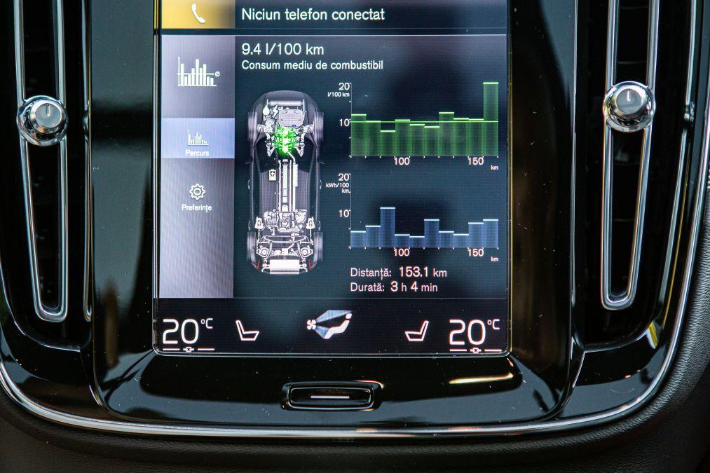 sistem multimedia Volvo XC40 Recharge T5
