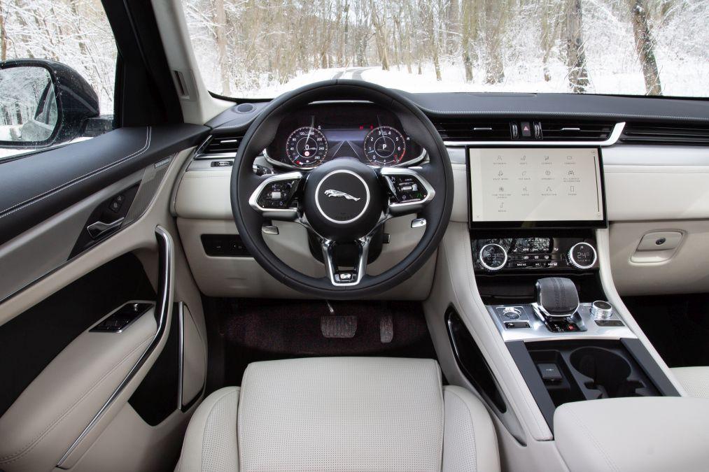 bord Jaguar F-Pace facelift