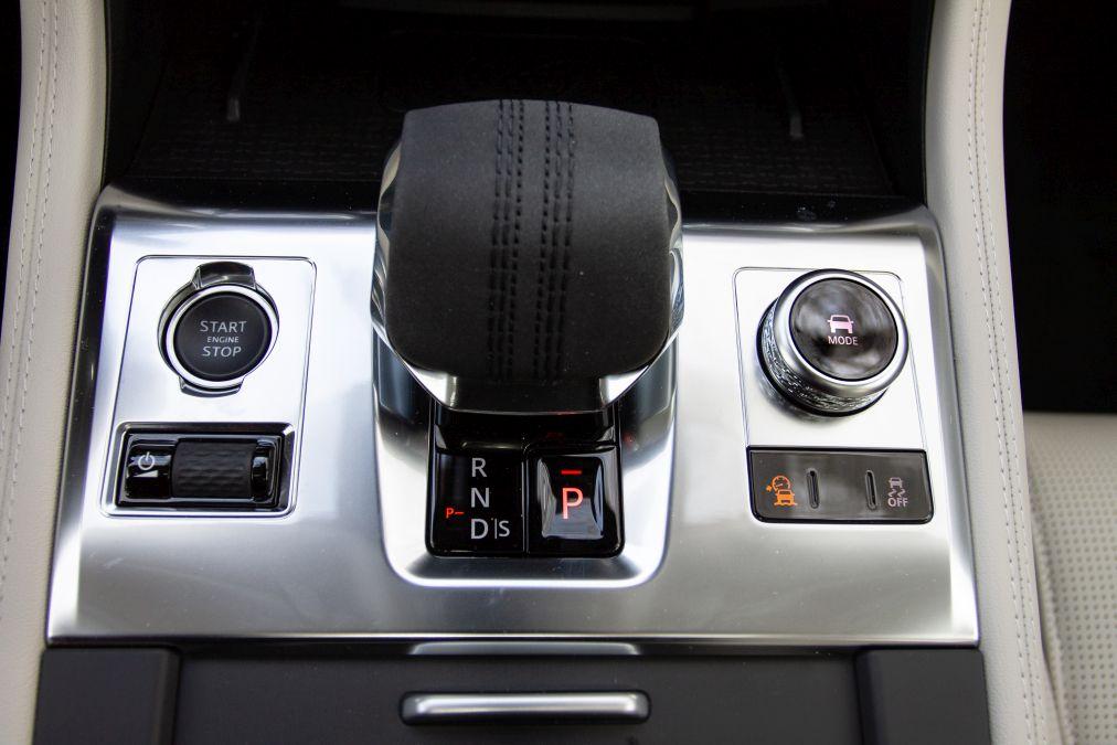 schimbator viteze Jaguar F-Pace facelift