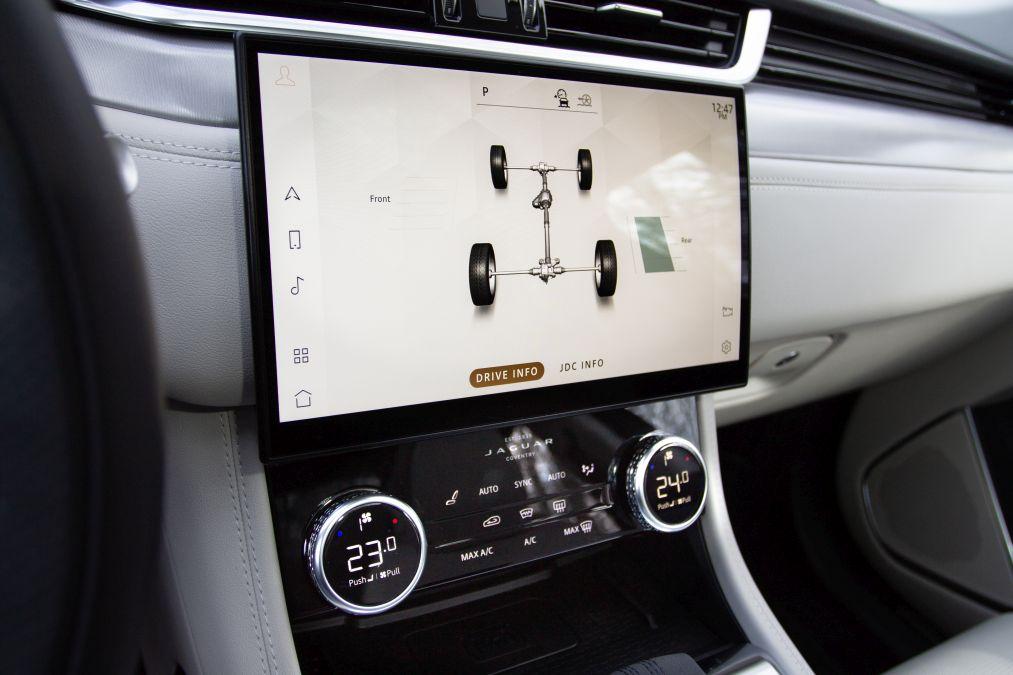 sistem multimedia jaguar F-Pace