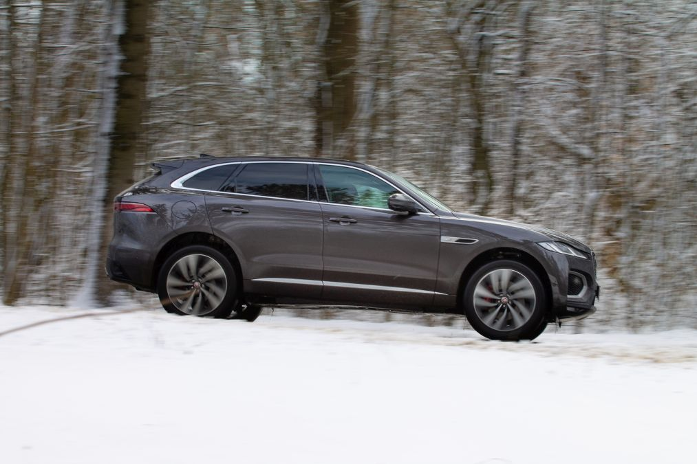 test jaguar F-Pace facelift 2021