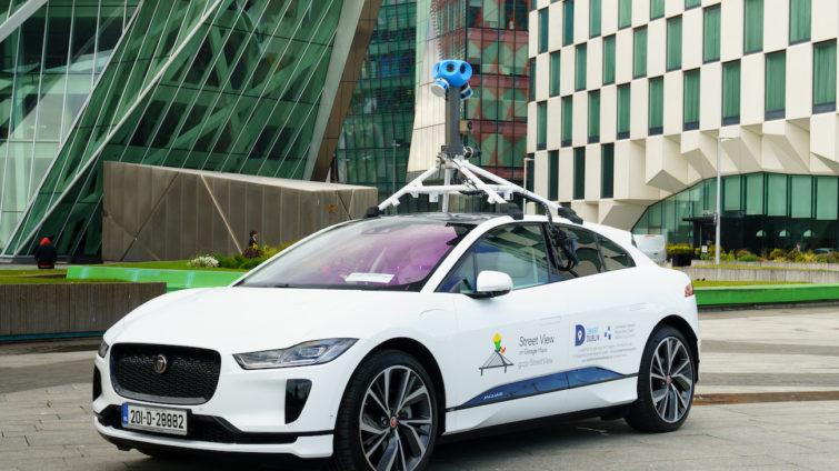 Jaguar I-PACE Google Street View