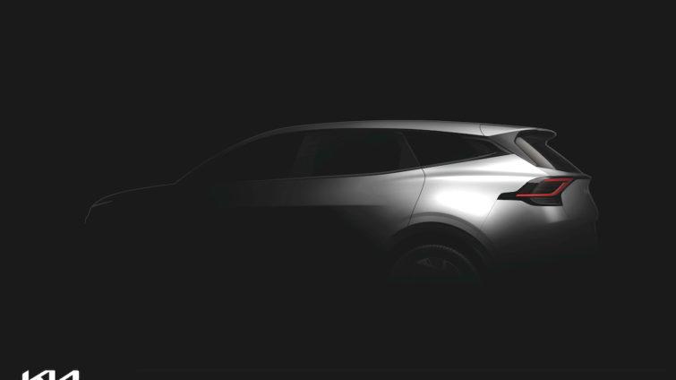 Kia Sportage 2021 teaser back