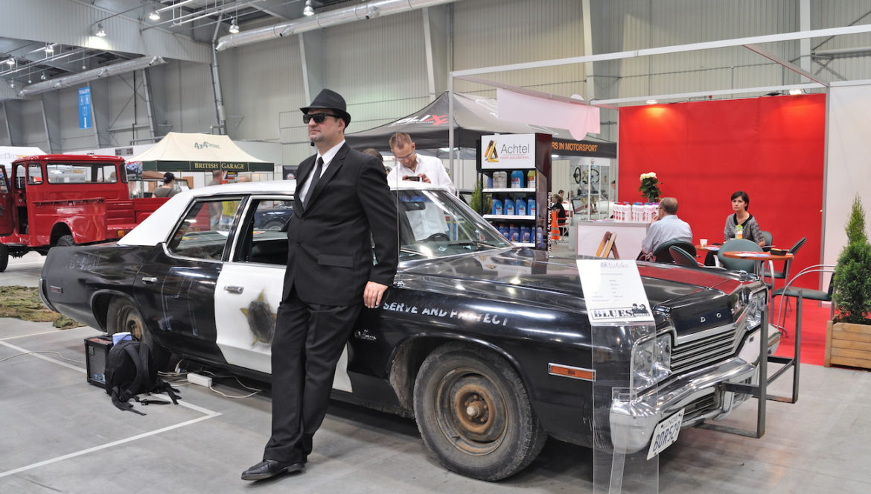 Mașini distruse - Blues Brothers