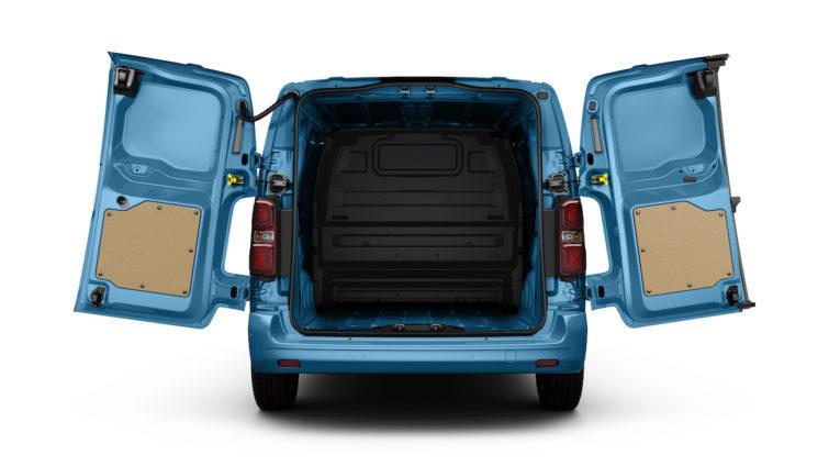 Capacitate de încărcare Peugeot e-Expert Hydrogen