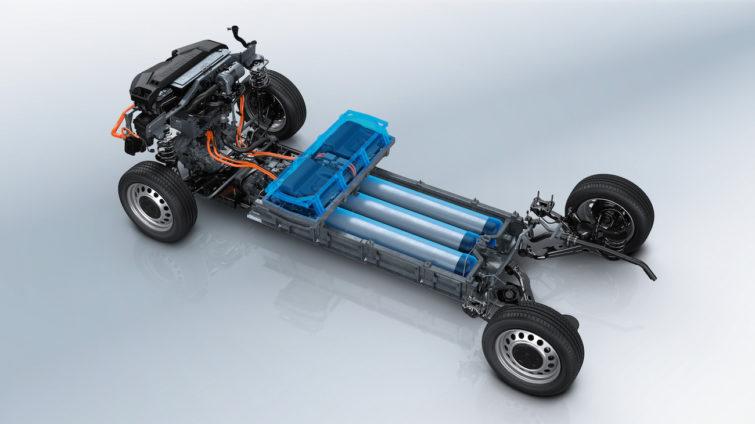 Sistem de propulsie Peugeot e-Expert Hydrogen