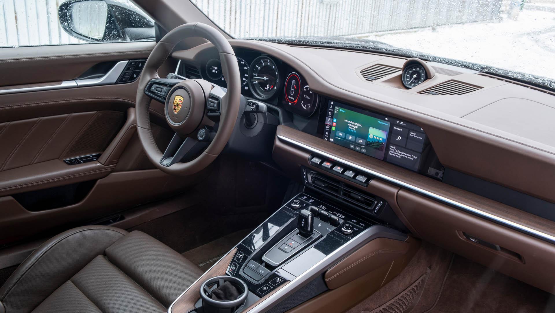 plansa de bord Porsche 911 targa