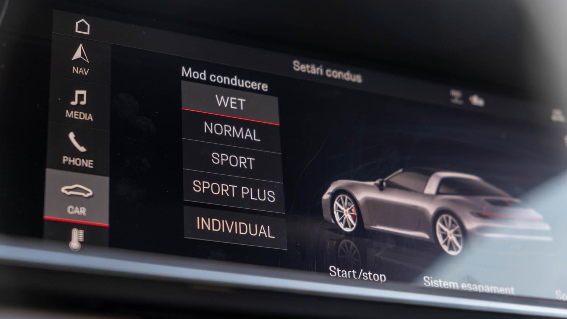 Porsche 911 Targa 4S test