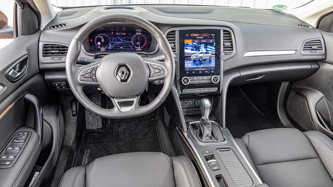 test comparativ Renault megane
