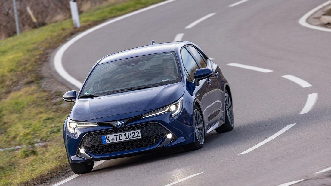test comparativ Toyota Corolla
