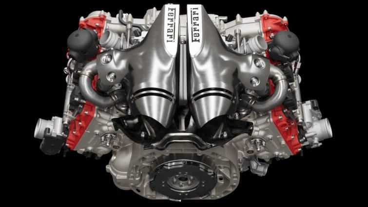 Ferrari 296 GTB - motor