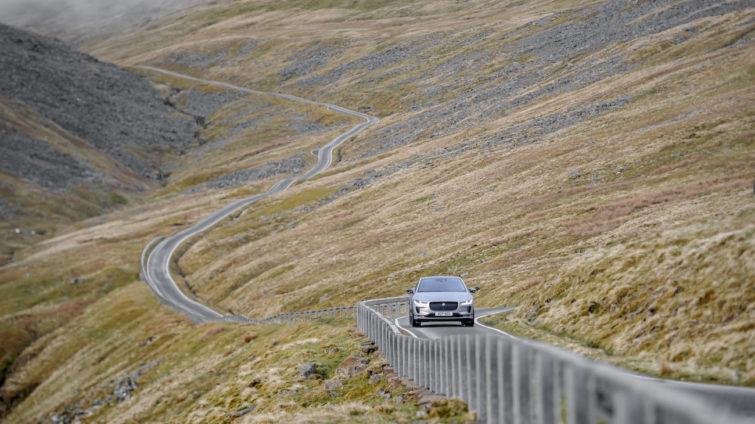 Everesting Challenge: Jaguar I-Pace