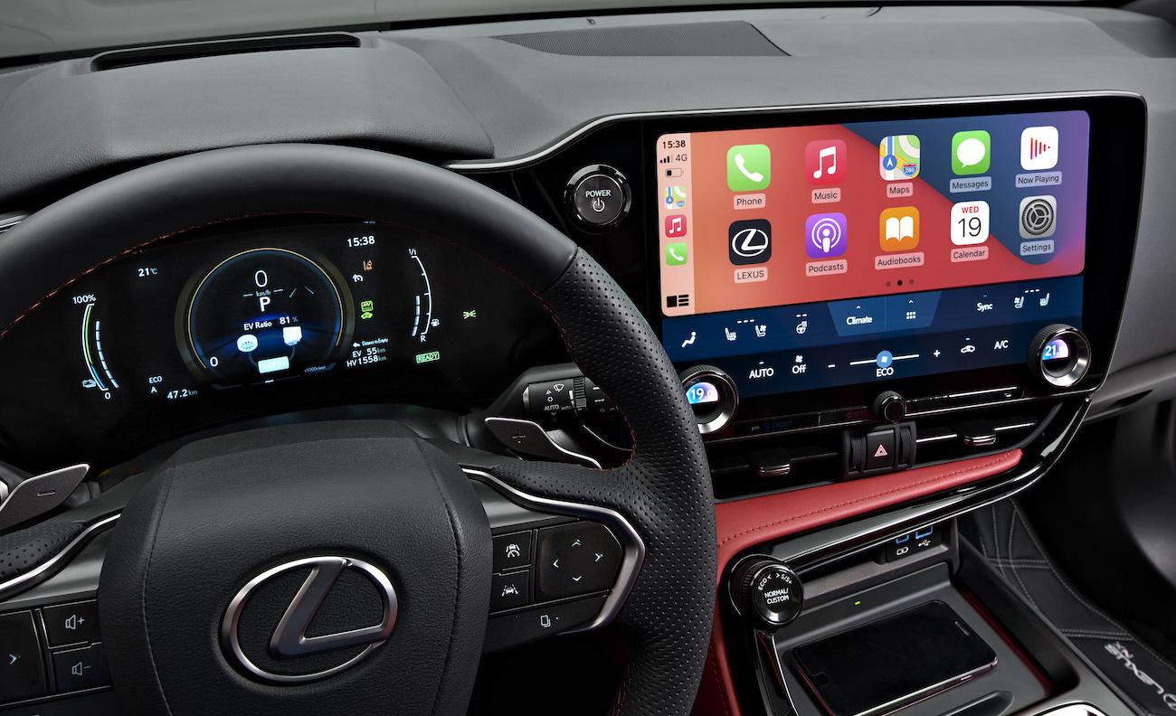 Lexus NX 2021 interior