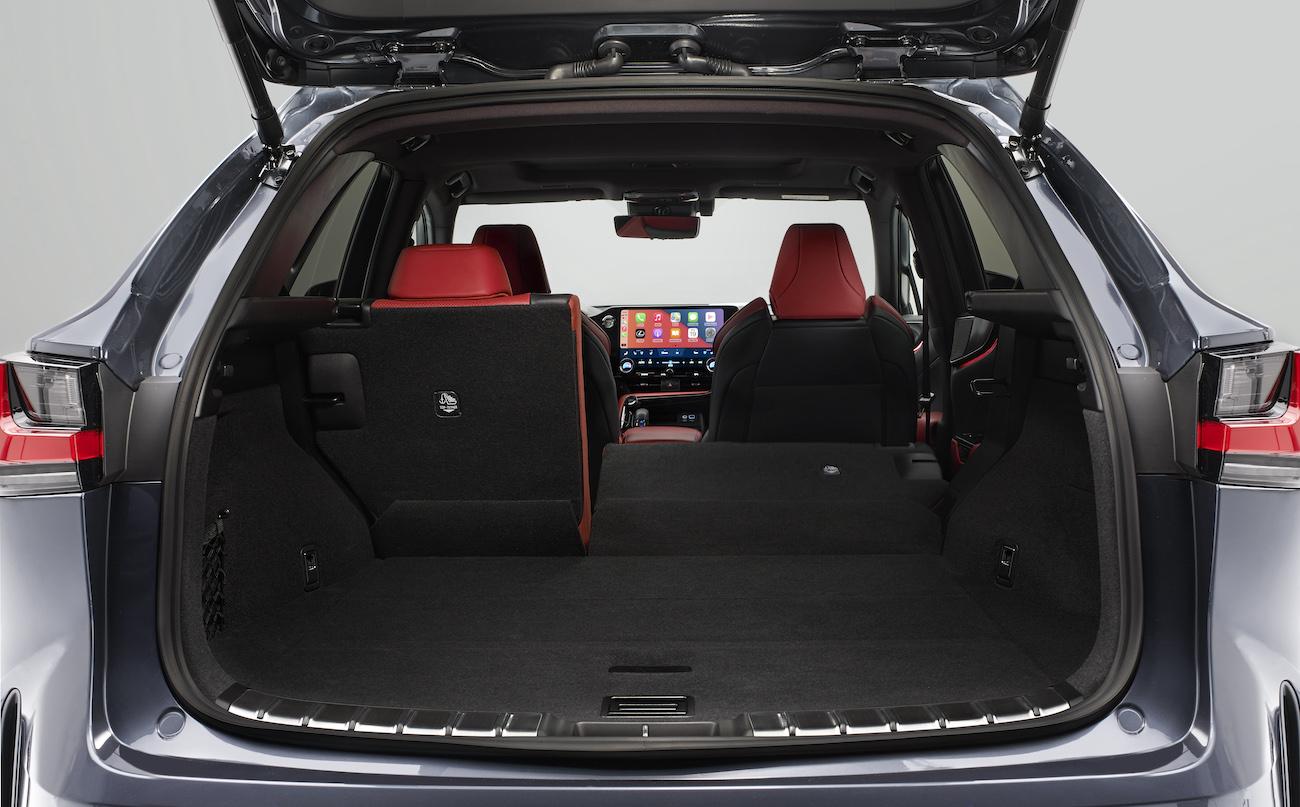 Lexus NX 2021 trunk