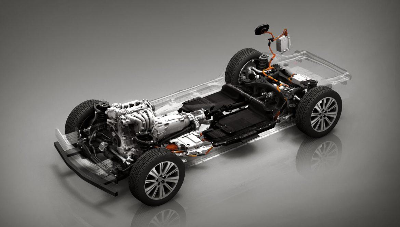 Mazda - Platforma PHEV