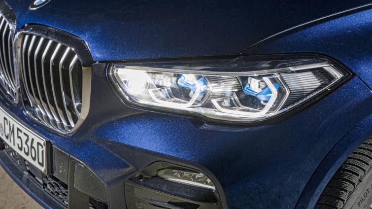 test lumini - BMW X5