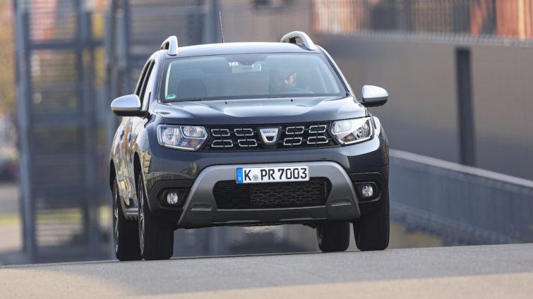 Test lumini - Dacia Duster