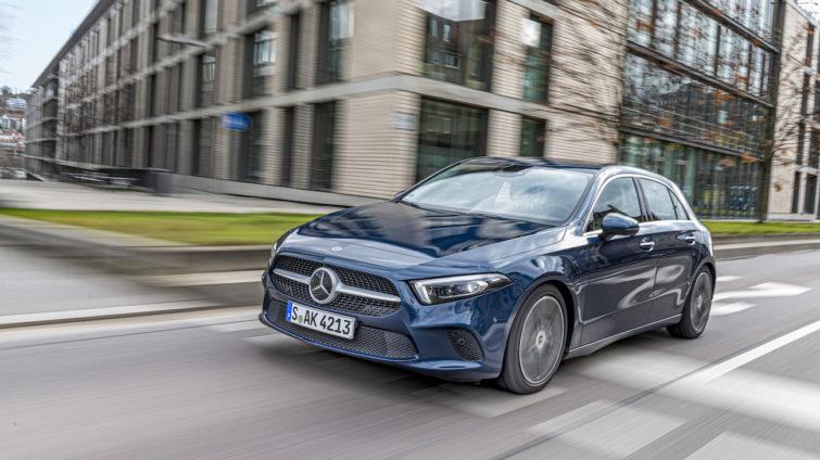 Test Lumini - Mercedes Clasa A