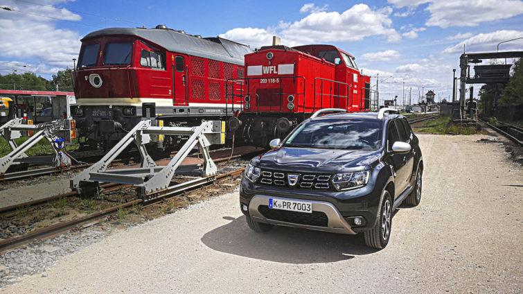 test de anduranță Dacia Duster