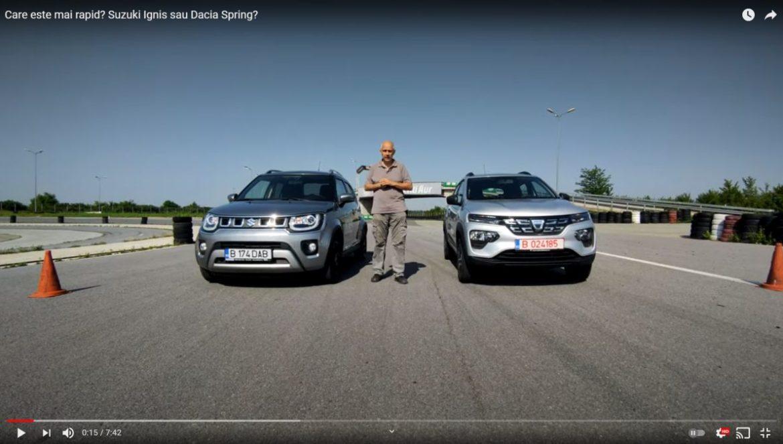 Dacia Spring vs Suzuki Ignis