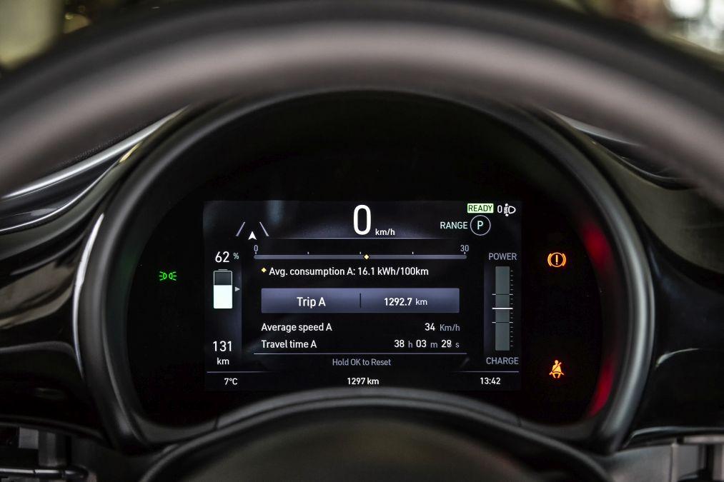 indicatoare de bord Fiat 500e