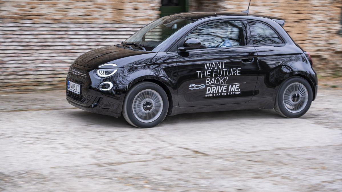 test Fiat 500e