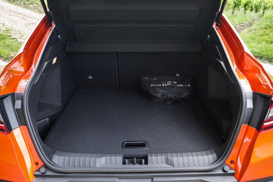 portbagaj Renault arkana