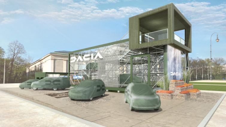Stand Dacia la Munchen