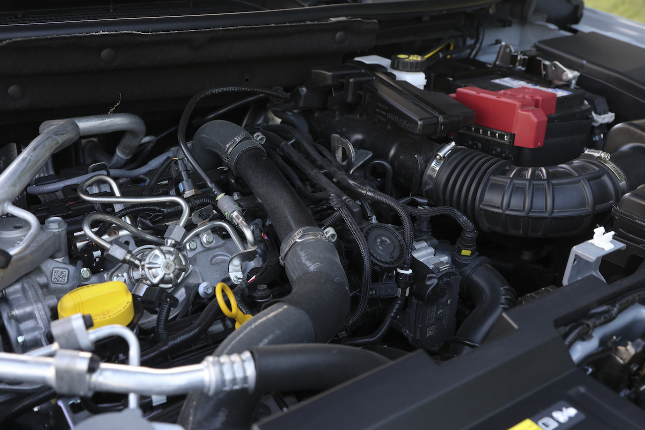 Test Nissan Qashqai - motor