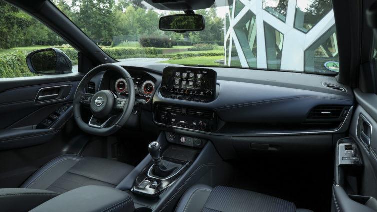Test Nissan Qashqai - interior