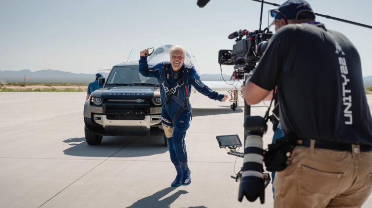 Virgin Galactic - Land Rover, Richard Branson