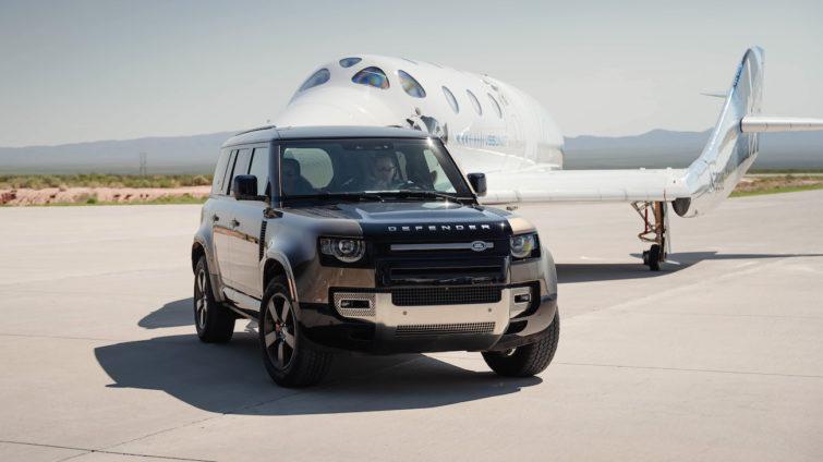 Virgin Galactic - Land Rover